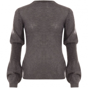 Coster Copenhagen, Sweater with rib detail on the sleeve