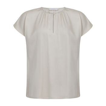 Coster Copenhagen, Top with shortsleeves and gatherings