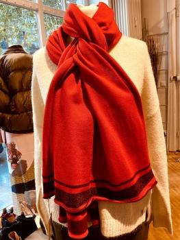 Phil & Lui, Stella scarf, lipstick red