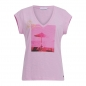 Preview: Coster Copenhagen, T-Shirt with oh vacay print, orchid pink