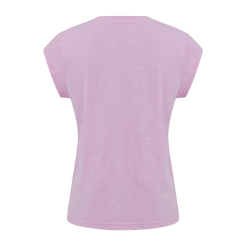 Coster Copenhagen, T-Shirt with oh vacay print, orchid pink