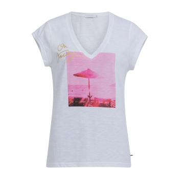 Coster Copenhagen, T-Shirt with oh vacay print, white