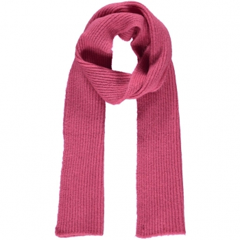 Basic apparel, Schal Holly, pink yarrow