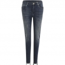 Coster Copenhagen, Slim fit jeans with raw edges and destroy effect